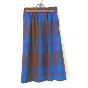 VINTAGE// beautiful long wool skirt